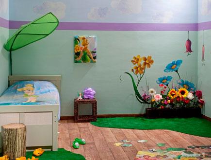 נירלט טינקרבל  עיצוב חדרי ילדים