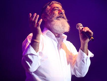 אריאל זילבר, מופע מאיר אריאל (צילום: נעה מגר)