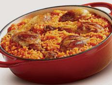 איך מכינים אורז אדום עם עוף ?