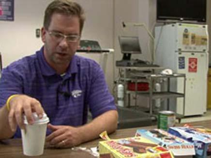 """12 ק""""ג פחות בזכות עוגייה. ד""""ר מארק האוב (צילום: CNN)"""