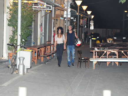 עוז זהבי וליאל דניר זוג (צילום: אלעד דיין ,mako)