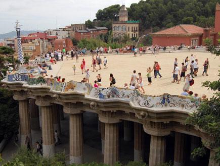 פארק גואל -ילדים בברצלונה
