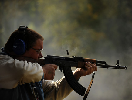 AK-47 (צילום: getty images)