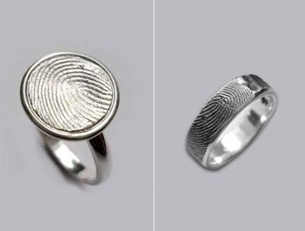 טבעת נישואים - טביעת אצבע
