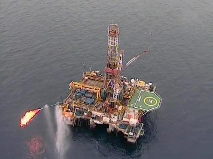 """""""וודסייד"""" האוסטרלית תיכנס כשותפה במאגר הגז (צילום: חדשות 2)"""