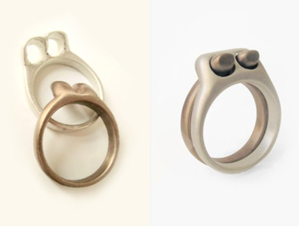 טבעת נישואים - זוג
