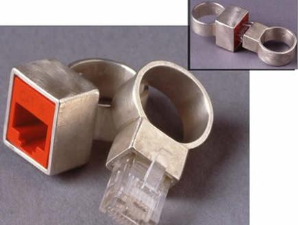 טבעת נישואים - חיבור לטלפון