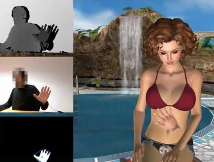 משחק פורנוגרפי בקינקט, צילום מסך מתוך הדמו (צילום: צילום מסך ,mako)