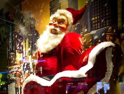 חלון חג המולד בלונדון (צילום: getty images ,getty images)
