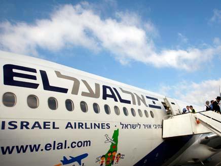 מטוס אל על (צילום: רוייטרס)