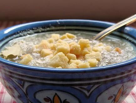 מרק בצל, טעימא (צילום: תומר פרת)
