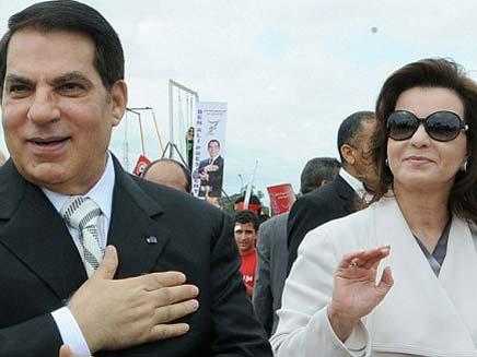 נשיא תוניסיה המודח בן עלי