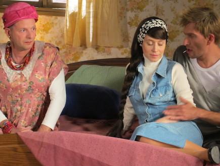 יוקנת, יון זהבקין ורווחחל - דתלשלשים (צילום: רוני רפפורט ,ארץ נהדרת )
