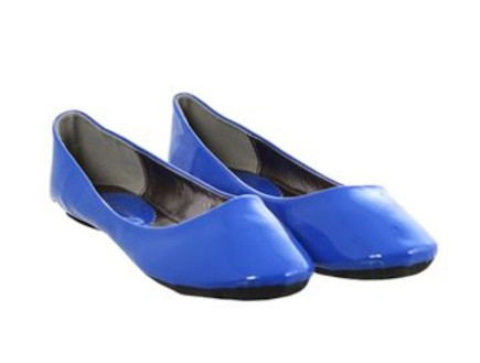נעליים כחולות (צילום: styleriver)