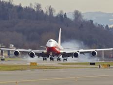 בואינג 747-8 בטיסה ראשונה
