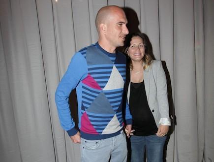 אירוע השקה עם סגולה - אסי כהן ואשתו ליאם