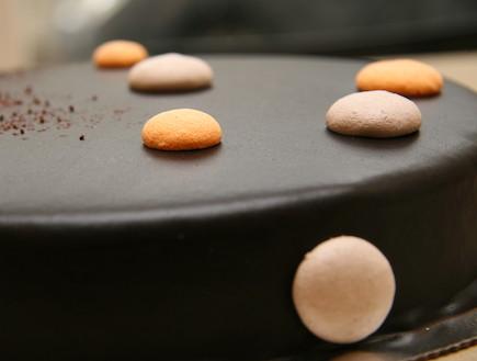עוגת מוס תפוז (צילום: גלית אגייב ,קונדיטוריה גליה)