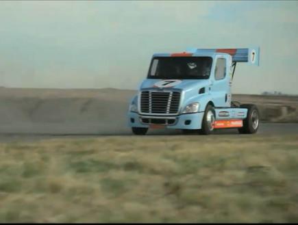 משאית דריפטים (צילום: צילום מסך)