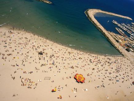 חוף בתל אביב (צילום: משה שי)