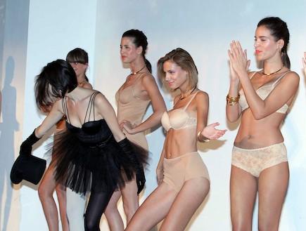 תצוגת אופנה טריומף סיון אפריל 2011 (צילום: עודד קרני ,mako)