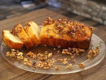 עוגת מייפל ואגוזי מלך (צילום: שי שרף ,7 מנות ל-7 ימים)