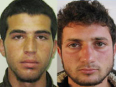 שני החשודים ברצח (צילום: חדשות 2)