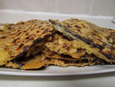 מציות ממולאות גבינה (צילום: בתיה דורון ,הבלוג של בתיה דורון)