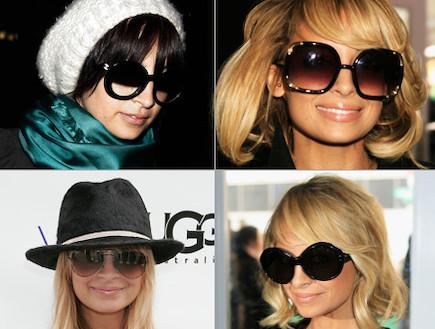 משקפי שמש - ניקול ריצ'י (צילום: Getty images ,Getty images)