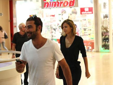 סיון אברהמי ועמיר גולדברג שוב ביחד (צילום: אלעד דיין ,mako)