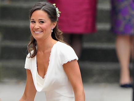 פיפה מידלטון בחתונה המלכותית (צילום: getty images ,getty images)