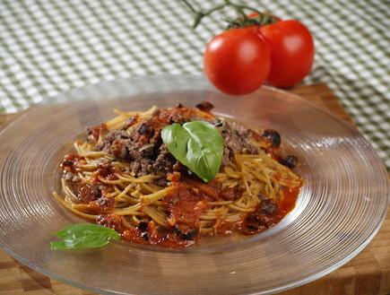 ספגטי בולונז (צילום: שי שרף)