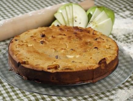 עוגת תפוחים (צילום: שי שרף)