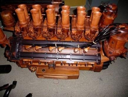 פרארי - מנוע מעץ