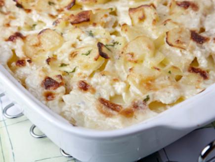 תפוחי אדמה מוקרמים בתנור (צילום: istockphoto ,istockphoto)
