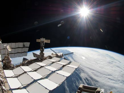 תחנת החלל הבינלאומית (צילום: AP)
