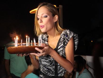 סיון אברהמי חגגה יום הולדת (צילום: ראובן שניידר ,mako)