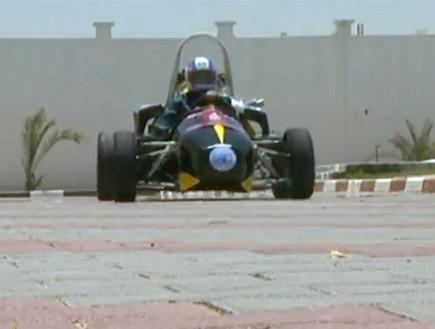 מכונית מרוץ תוצרת עזה