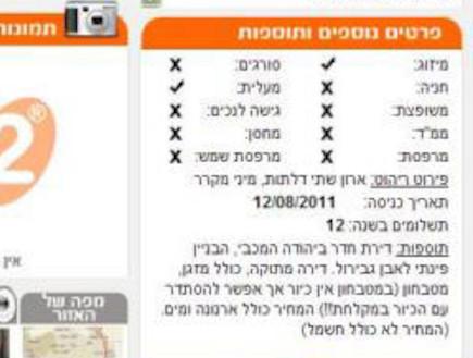 בלוג דירות מהגהינום יהודה מכבי לקוח מאתר יד2