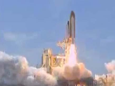 שיגור אחרון של מעבורת החלל אטלנטיס (צילום: חדשות 2)