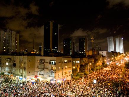 עצרת המחאה הגדולה בתל אביב