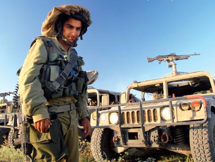"""פלסר שריון  (צילום: גל פורנברג  ,אתר צה""""ל)"""