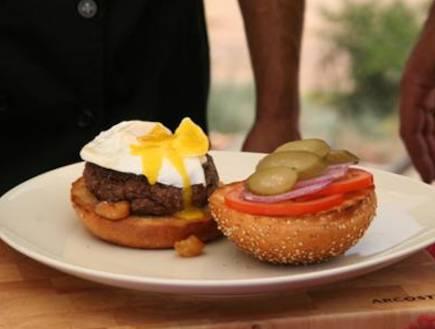 המבורגר ביצה עלומה