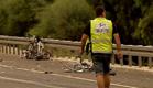 זירת התאונה, אוגוסט 2011 (צילום: חדשות 2)