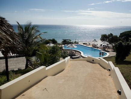 מלון Manta Reef Resort באי פמבה טנזניה