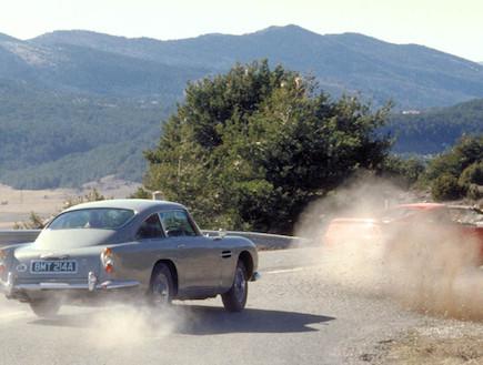 מכוניות ג'יימס בונד (צילום: יחסי ציבור)