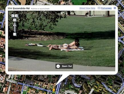 גוגל סטריט וויו, google street view (צילום: צילום מסך)