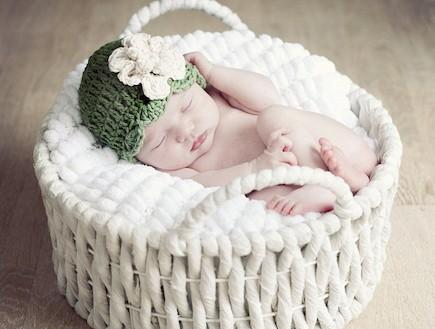 פרויקט צילום תינוקות ישנים