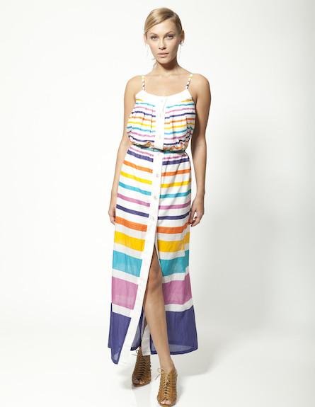 שמלת מקסי דגם סאנשיין שאהוב על סבינה במיוחד (צילום: תום מרשק ,mako)