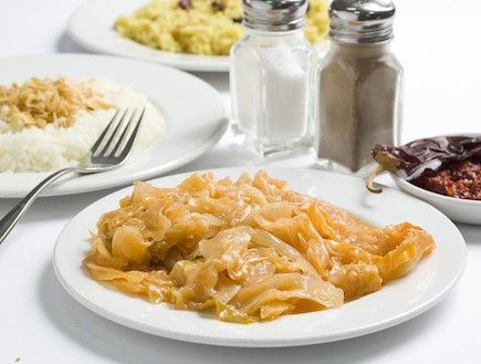 כרוב מאודה (צילום: בועז לביא ,מסעדת סנדר)