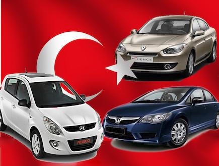 מכוניות שמיוצרות בטורקיה